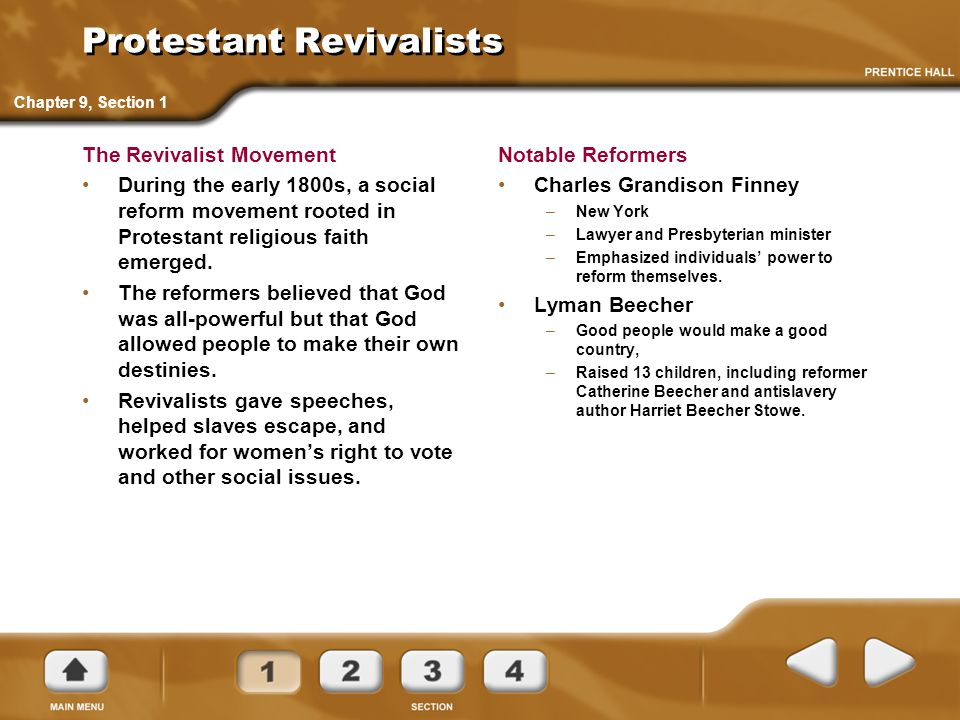 Protestant Revivalists