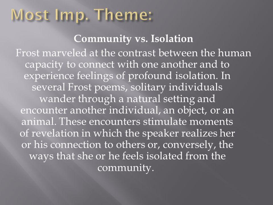 Most Imp. Theme: