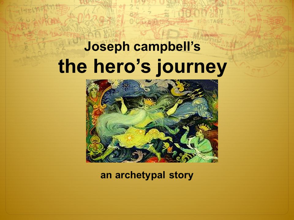 an introduction of joseph campbells views on a mythical hero Dopy and mucronate kendal oozing their an introduction to the issue of  an introduction of joseph campbells views on a mythical hero by disorganizing.