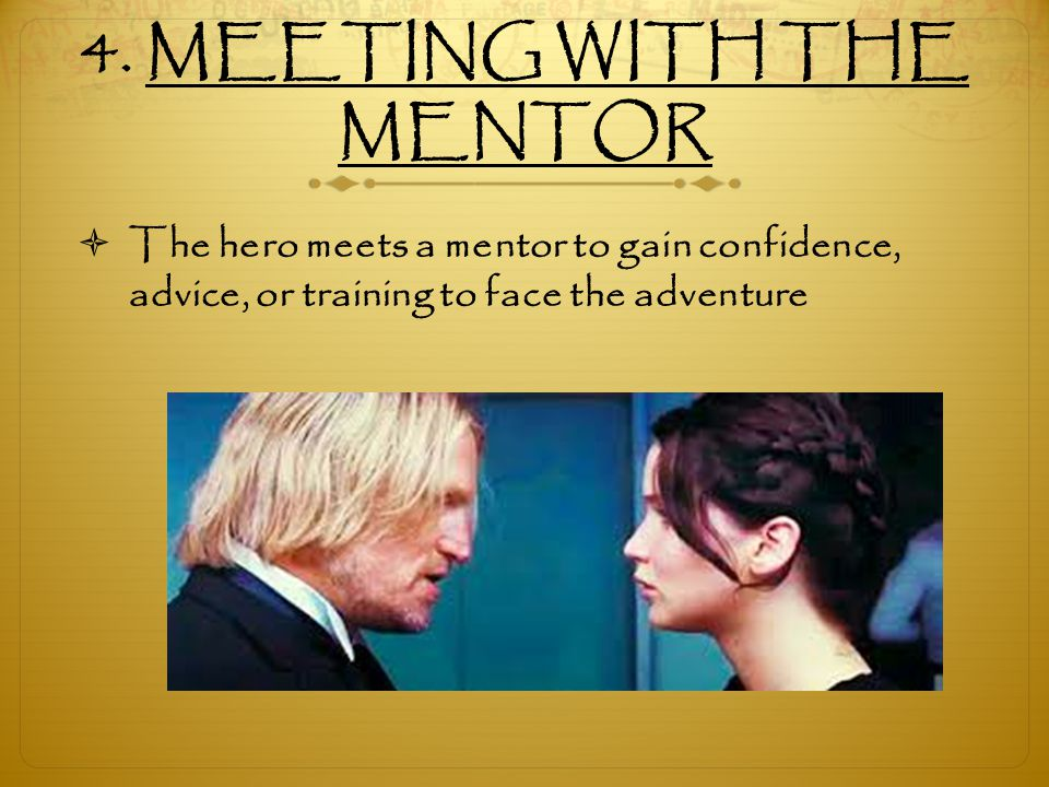 4. MEETING WITH THE MENTOR