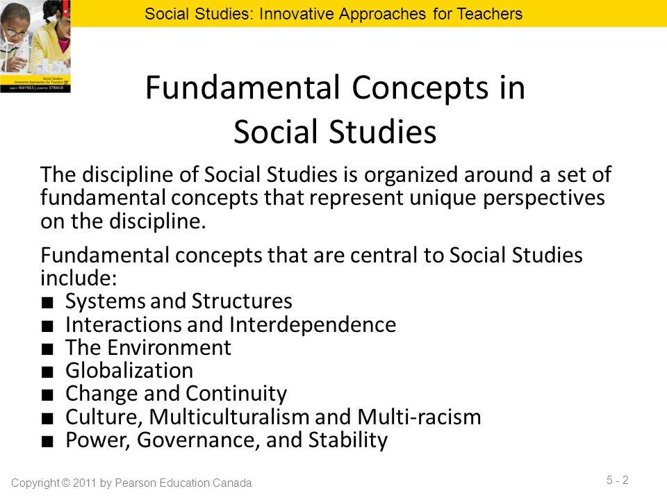 Fundamental Concepts in Social Studies