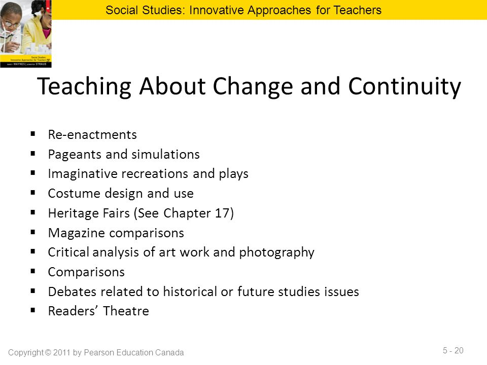 Teaching About Change and Continuity