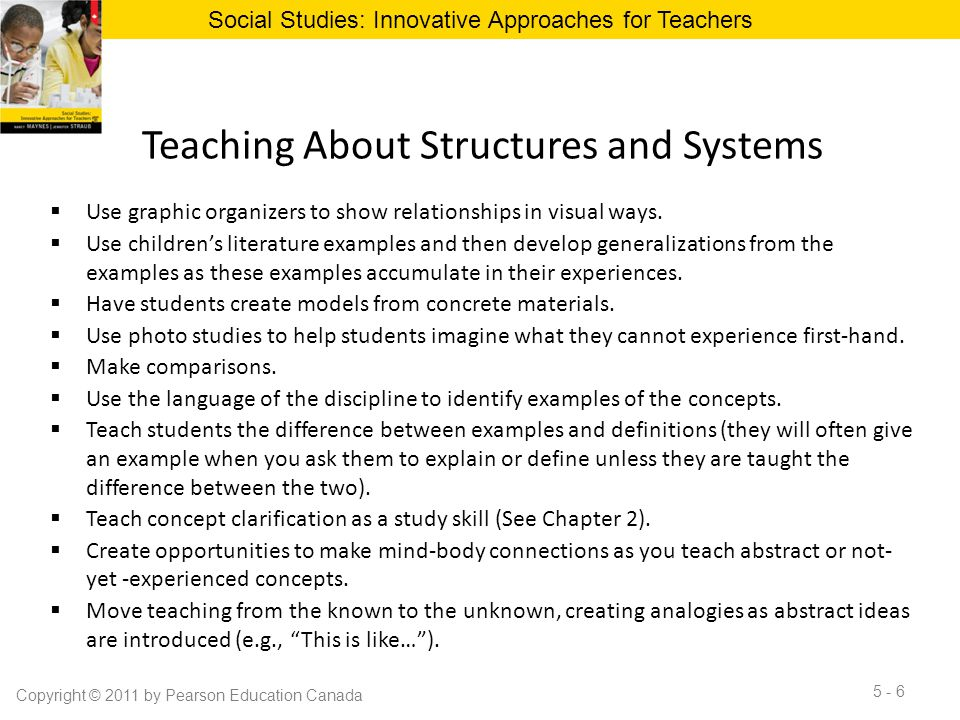 Teaching About Structures and Systems