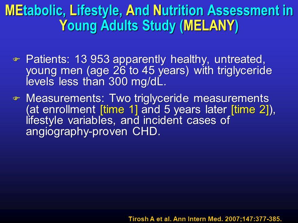 Tirosh A et al. Ann Intern Med. 2007;147:377-385.