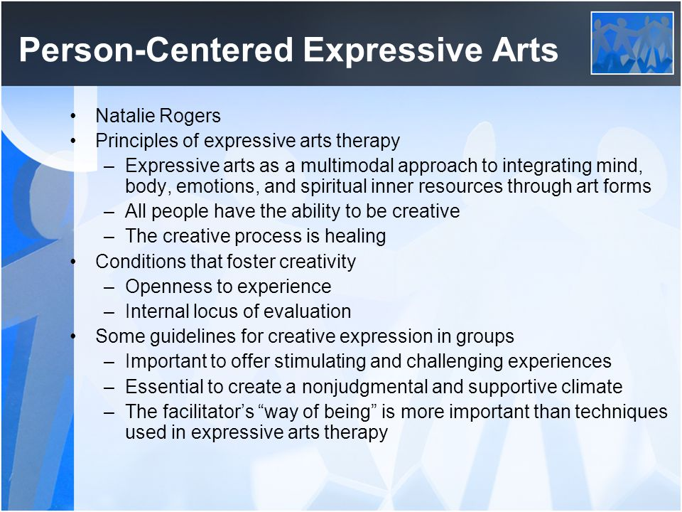 Person-Centered Expressive Arts