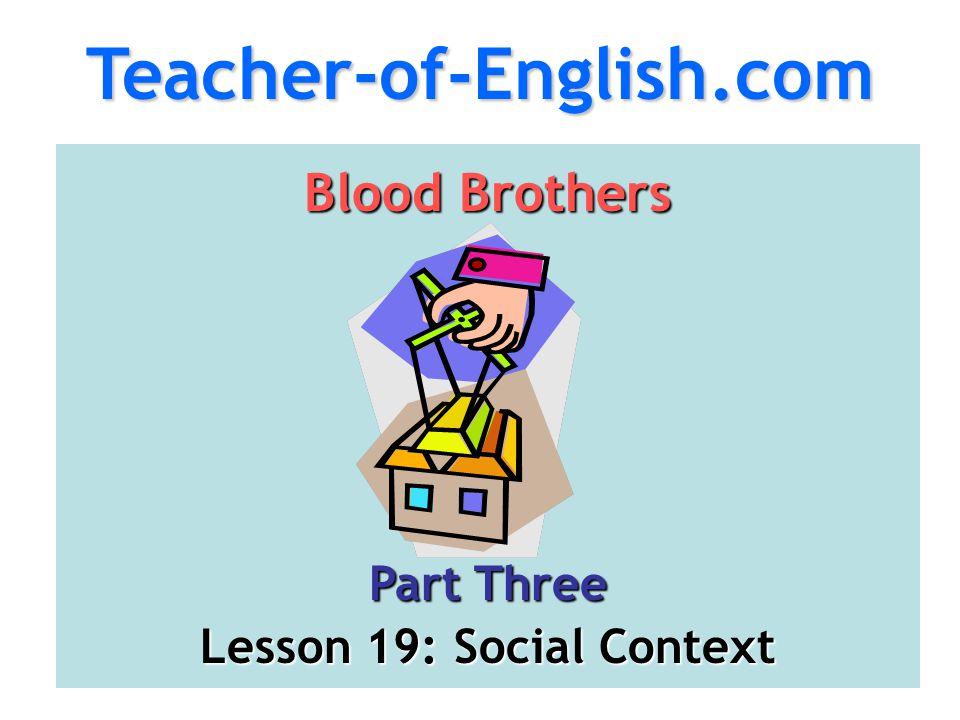 Lesson 19: Social Context