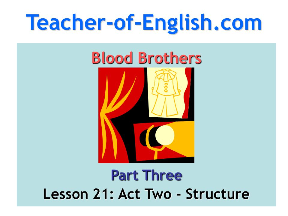 Lesson 21: Act Two - Structure