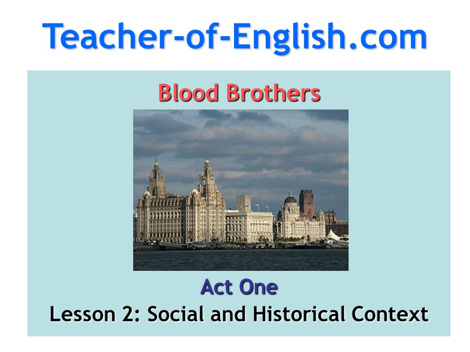 Lesson 2: Social and Historical Context