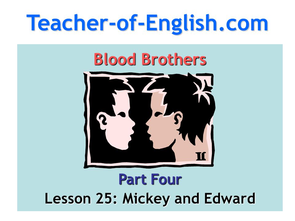 Lesson 25: Mickey and Edward
