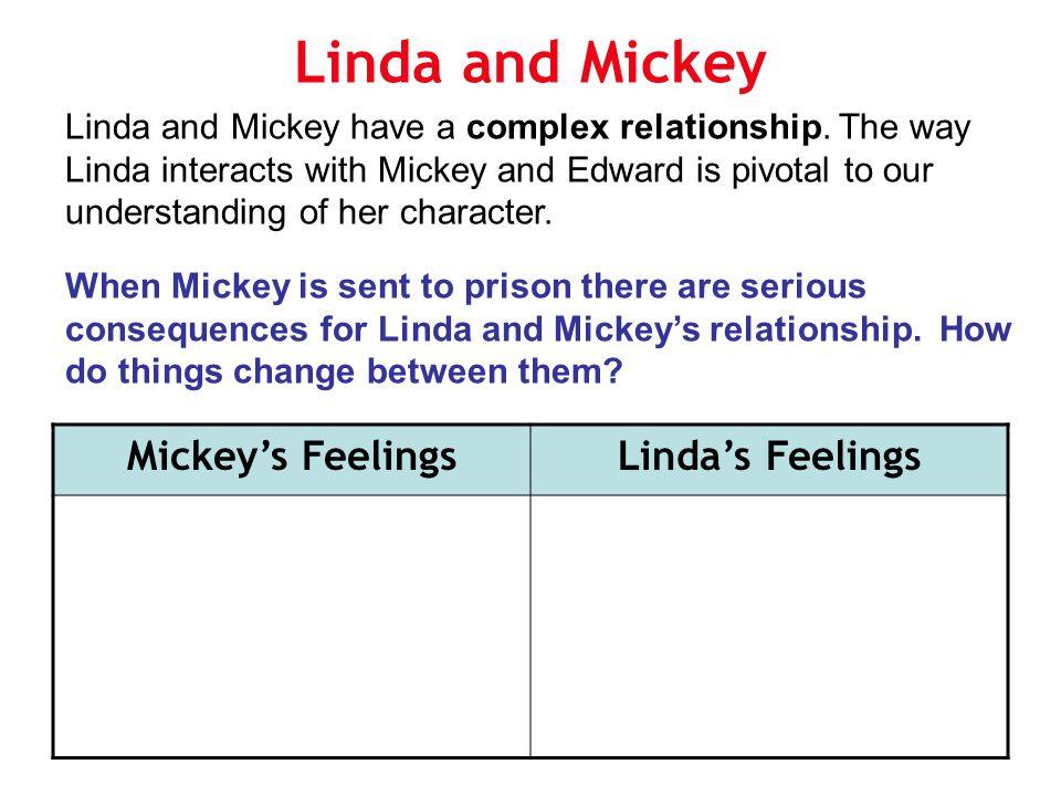 Linda and Mickey Mickey's Feelings Linda's Feelings