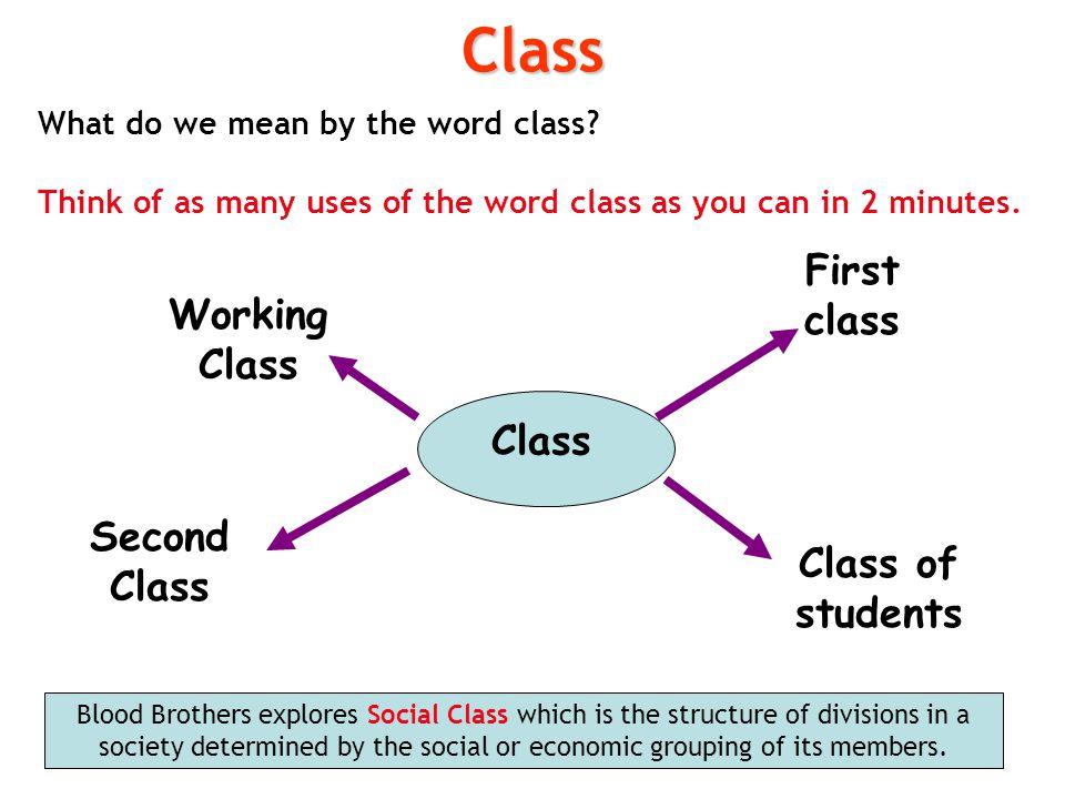 Class First class Working Class Class Second Class Class of students