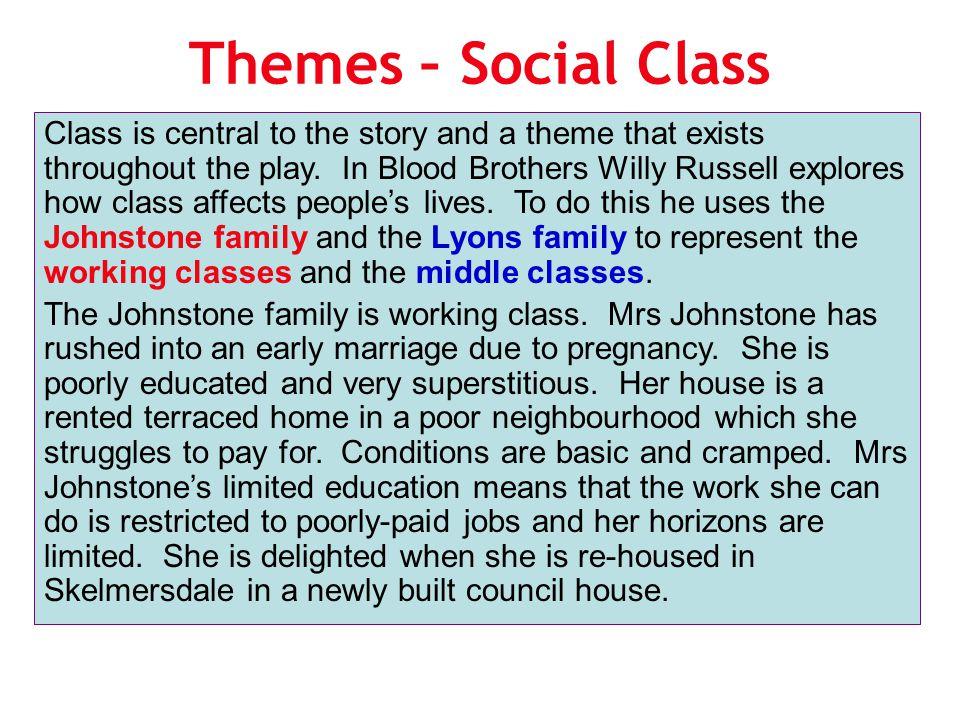 Themes – Social Class
