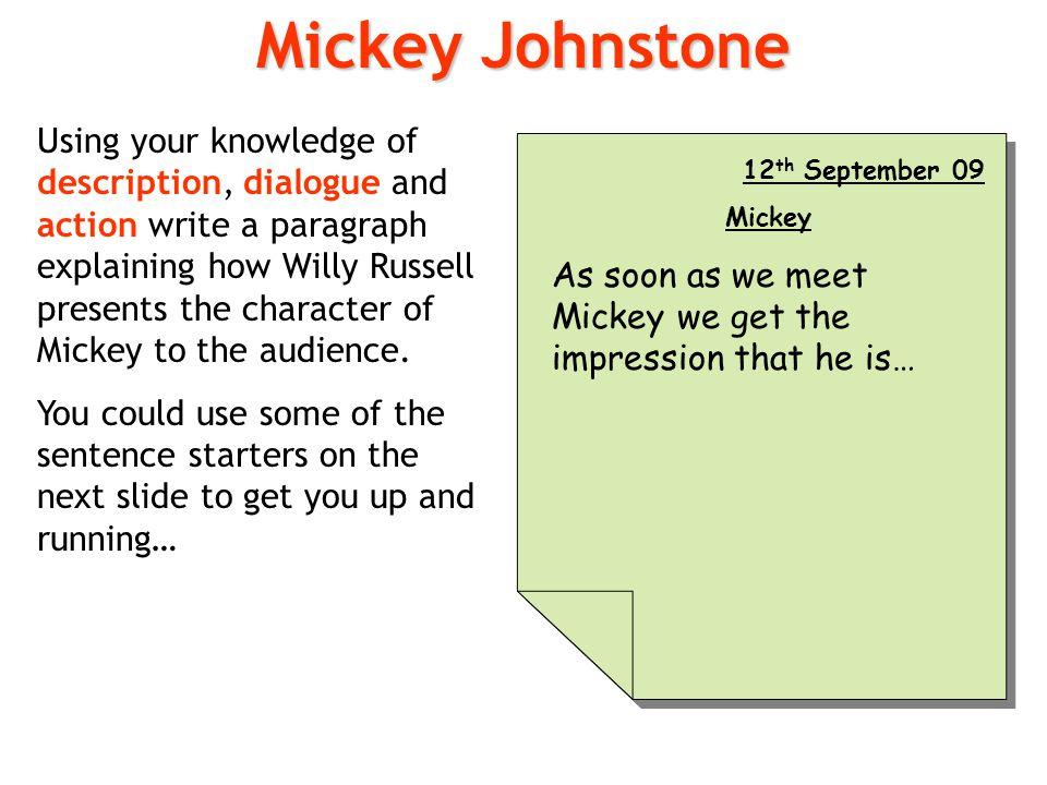 Mickey Johnstone