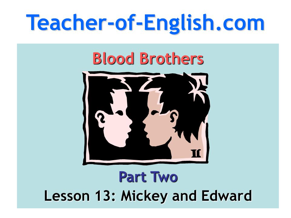Lesson 13: Mickey and Edward