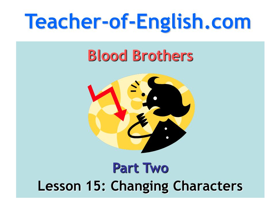 Lesson 15: Changing Characters