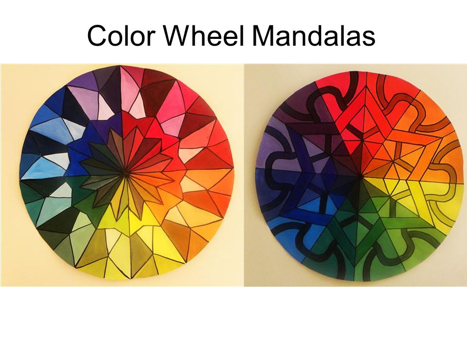 Color Wheel Mandalas