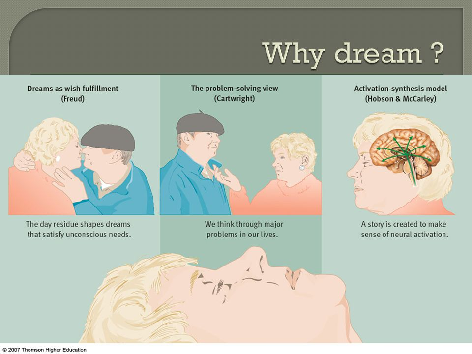 Why dream