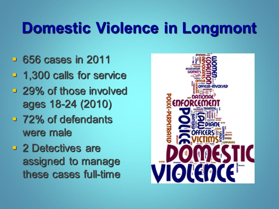 Domestic Violence in Longmont
