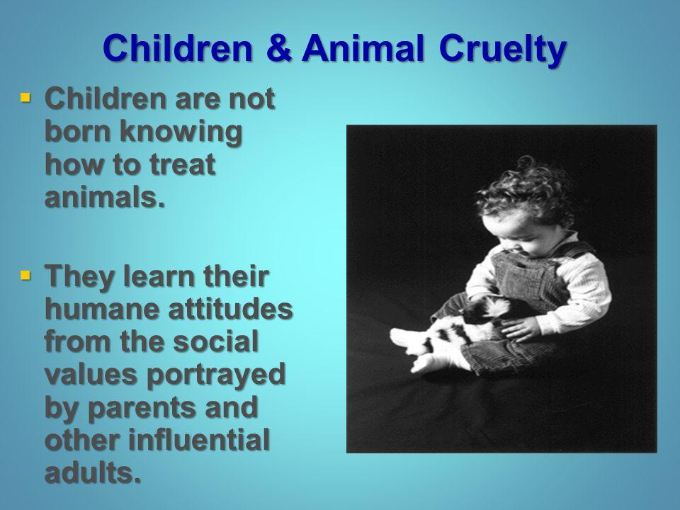 Children & Animal Cruelty