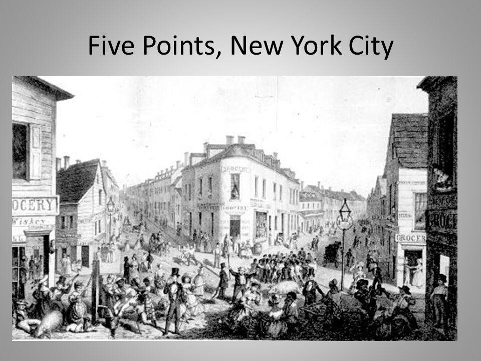 Five Points, New York City