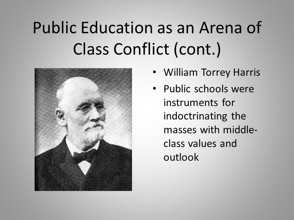 Public Education as an Arena of Class Conflict (cont.)