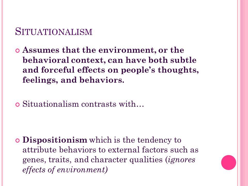 Situationalism