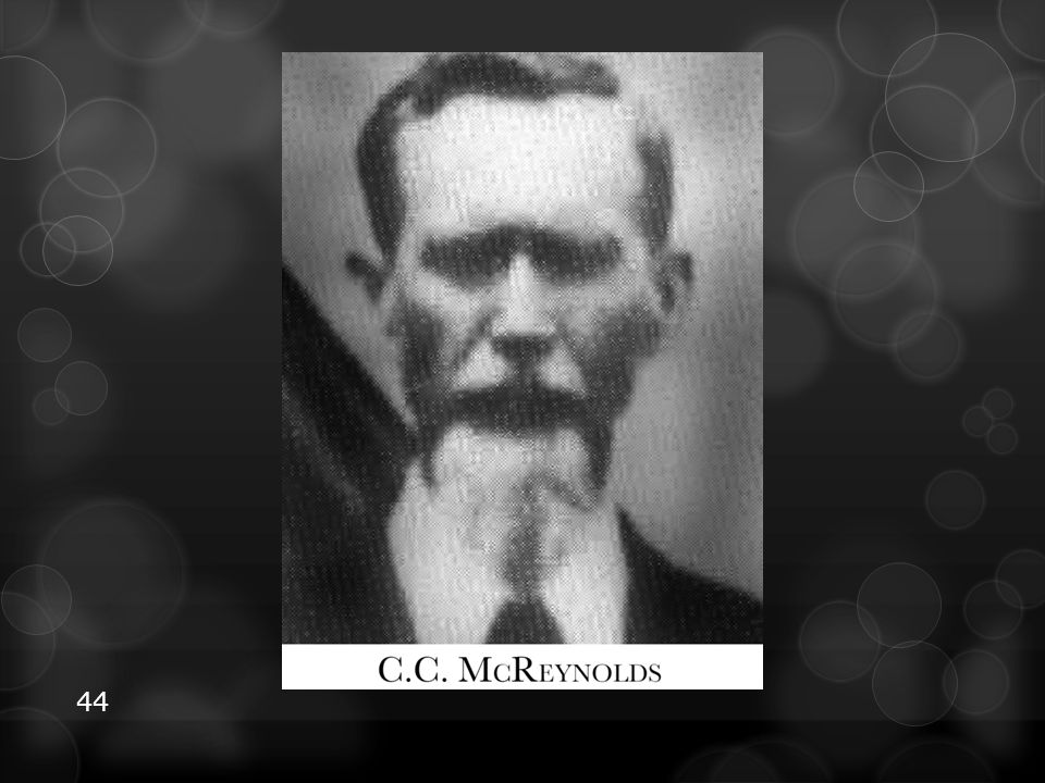 Chester C. McReynolds was a delegate from Kansas to the 1888 General Conference.