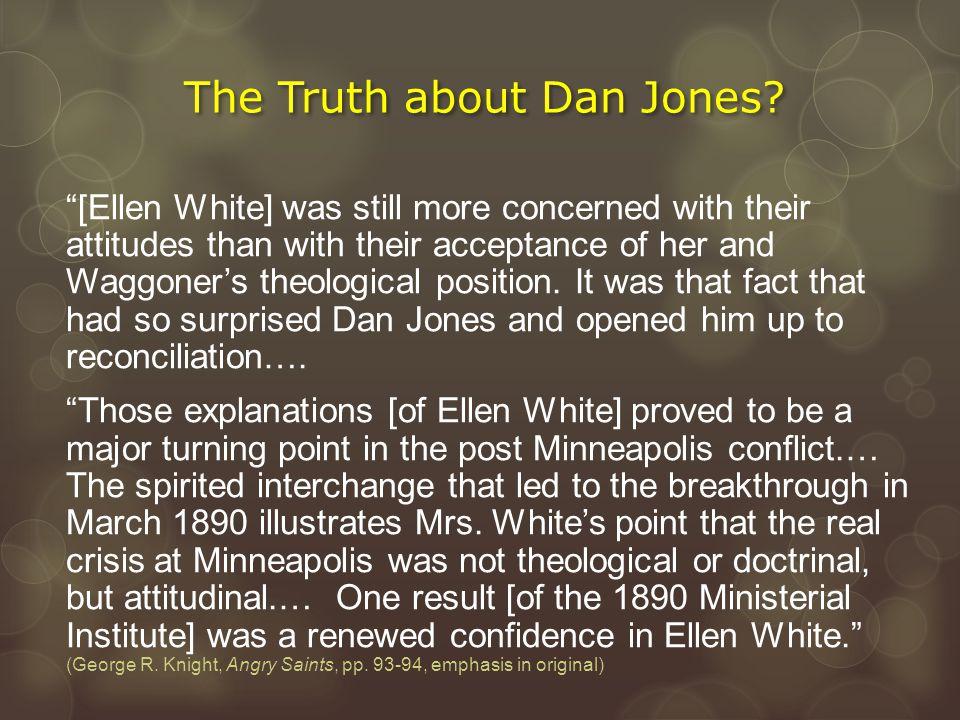 The Truth about Dan Jones