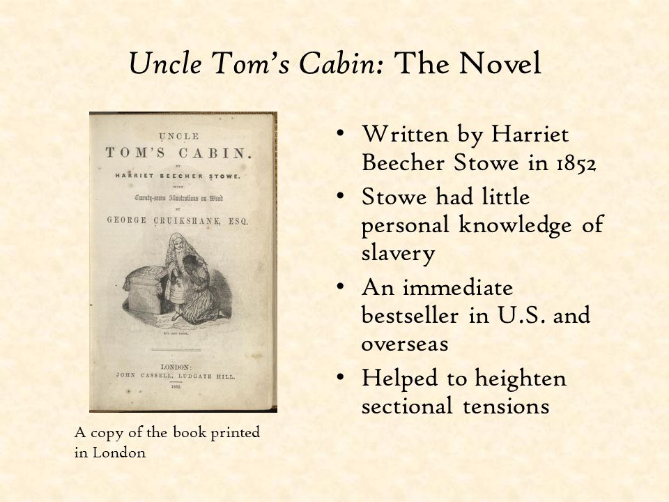 Uncle Tom's Cabin: The Novel