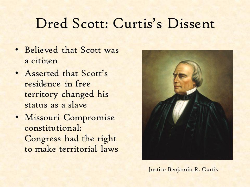 Dred Scott: Curtis's Dissent