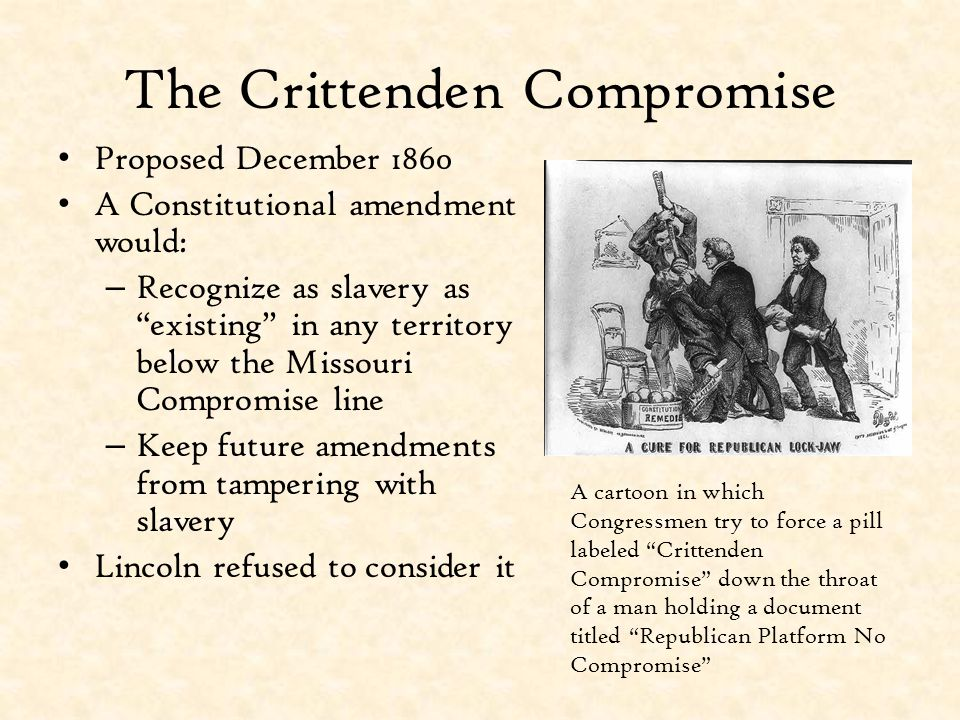 The Crittenden Compromise