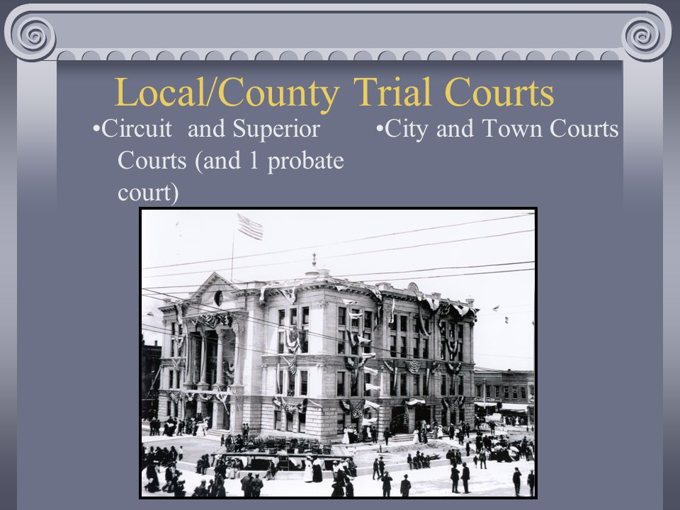 Local/County Trial Courts