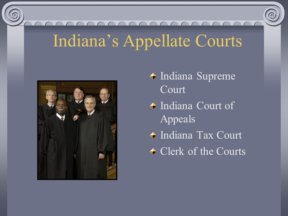 Indiana's Appellate Courts