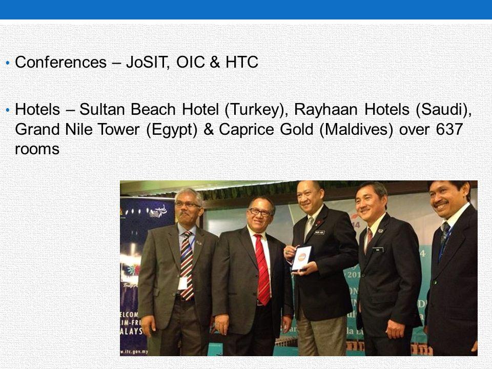 Conferences – JoSIT, OIC & HTC
