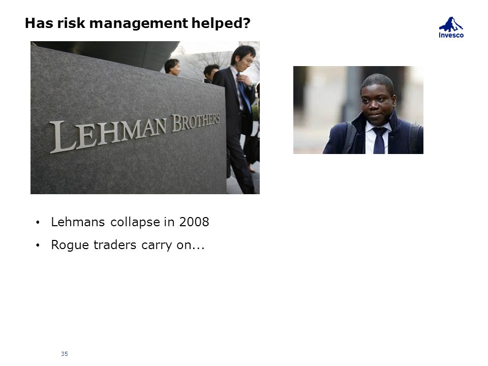 Has risk management helped