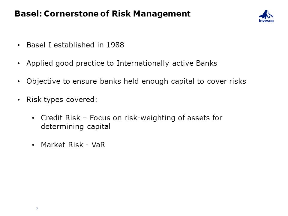 Basel: Cornerstone of Risk Management
