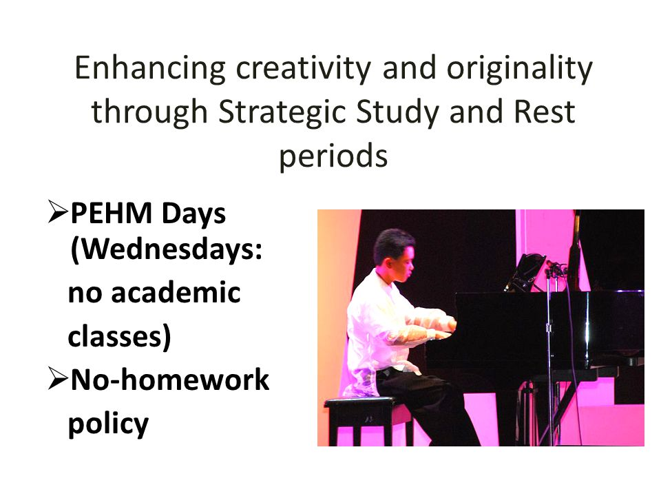 Enhancing creativity and originality through Strategic Study and Rest periods