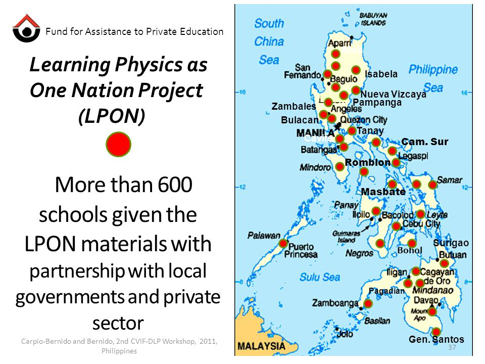 More than 600 schools given the LPON materials with