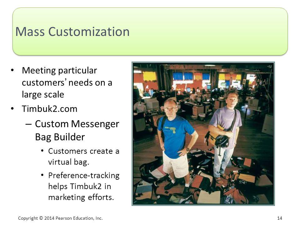 Mass Customization Custom Messenger Bag Builder