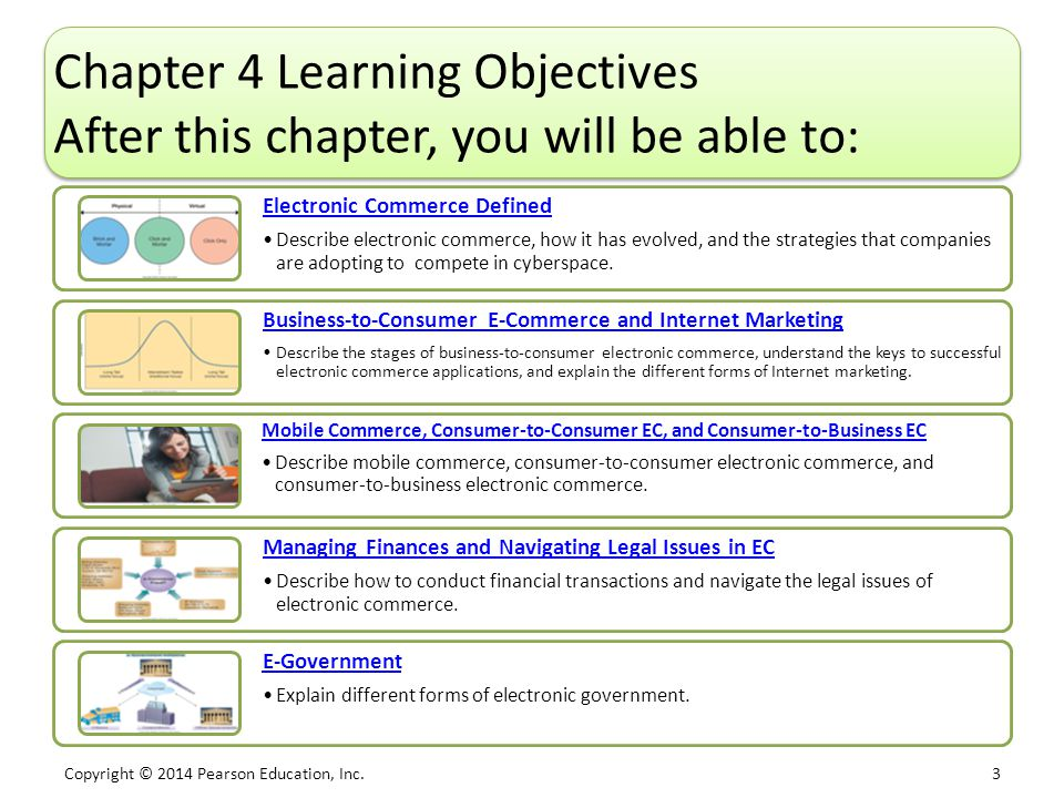Chapter 4 Learning Objectives After this chapter, you will be able to: