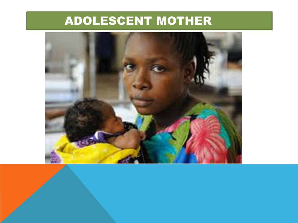 adolescent mother