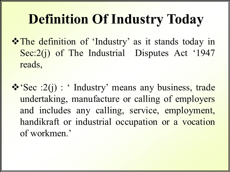 Trading industry definition