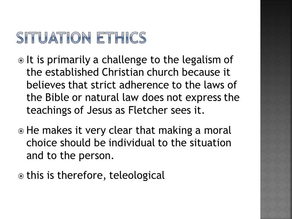 Situation ethics