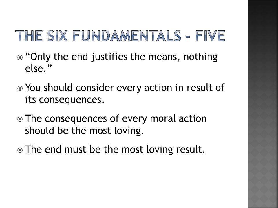 the Six fundamentals - five