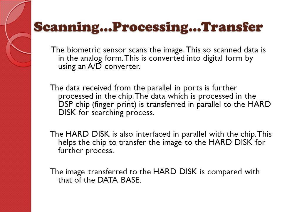 Scanning…Processing…Transfer