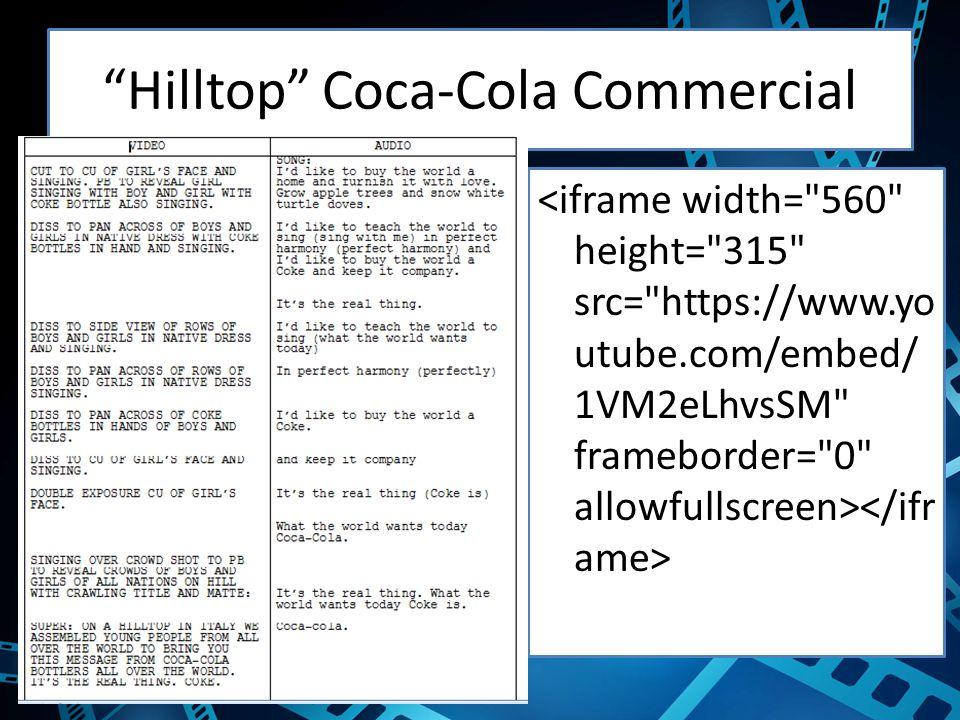 Hilltop Coca-Cola Commercial