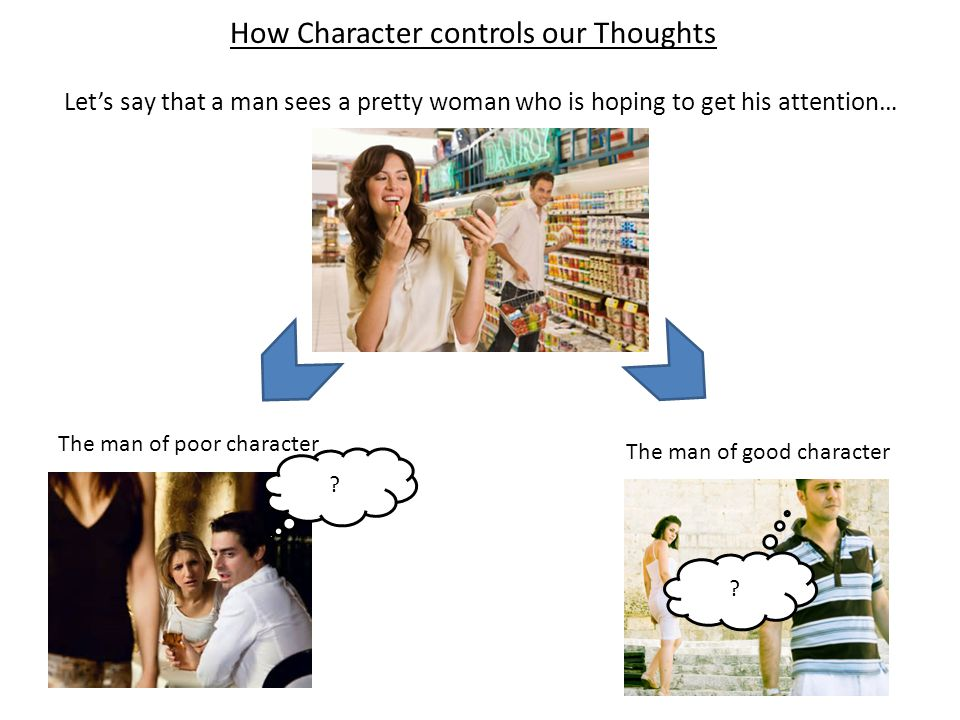How Character controls our Thoughts