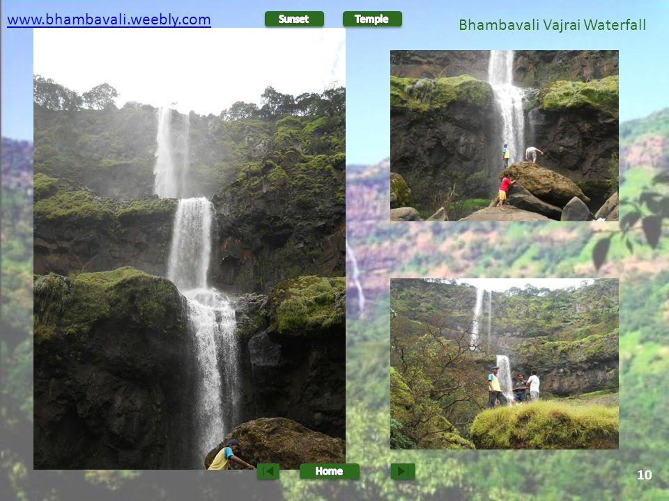 Bhambavali Vajrai Waterfall