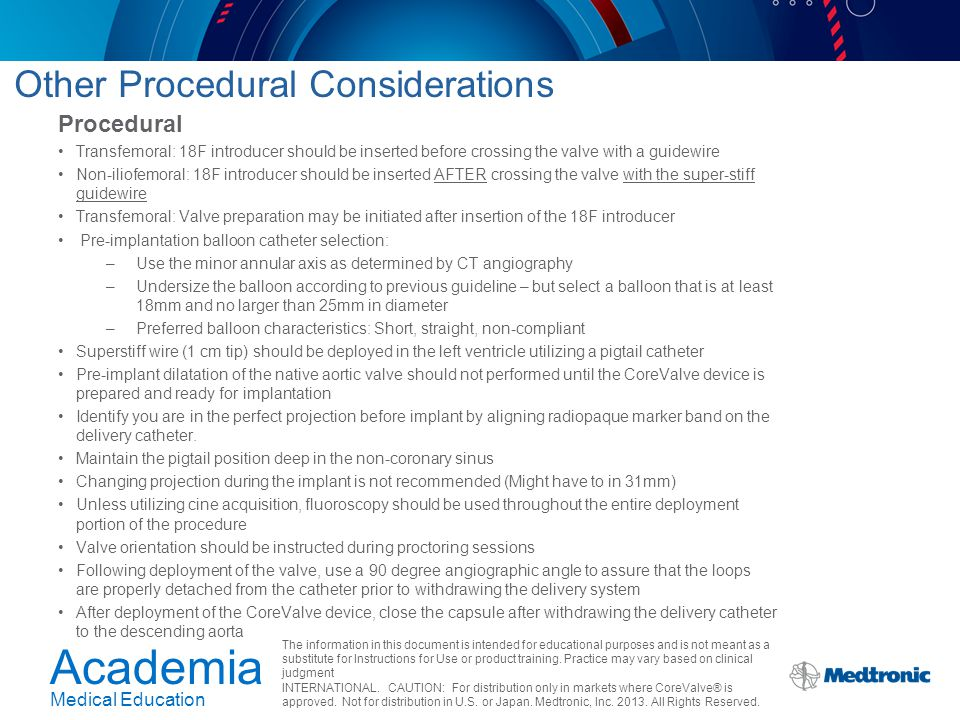 Other Procedural Considerations