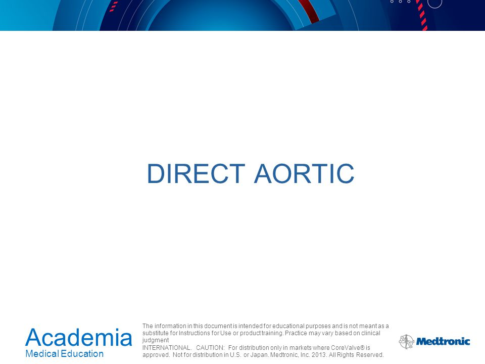 Direct Aortic